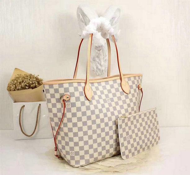 Wholesale Louis Vuitton Damier Replica Handbags-055