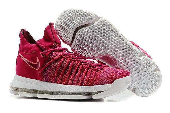 Wholesale Nike Zoom KD 9 Elite Men's Shoes-049