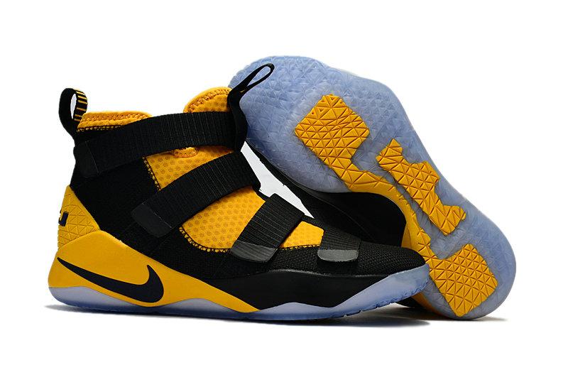 Wholesale Nike Replica LeBron Soldier XI Men's Shoes For Cheap-065