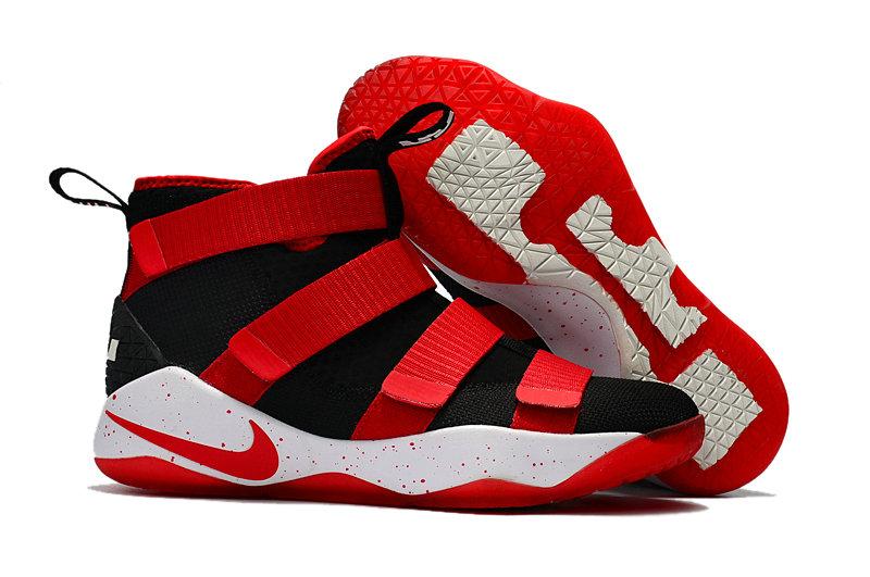 Wholesale Nike Replica LeBron Soldier XI Men's Shoes For Cheap-069