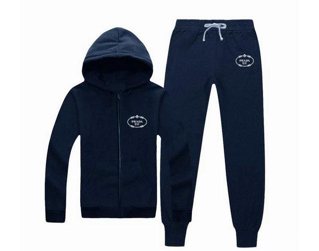 Wholesale Designer Prada Tracksuit for Cheap-037