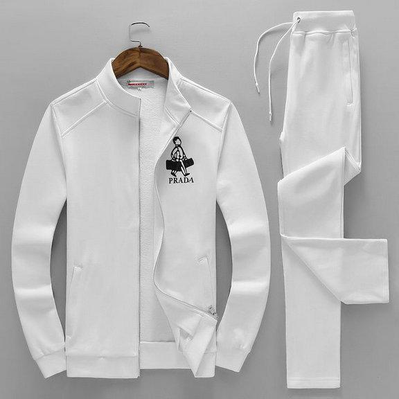 Wholesale Designer Prada Tracksuit for Cheap-049
