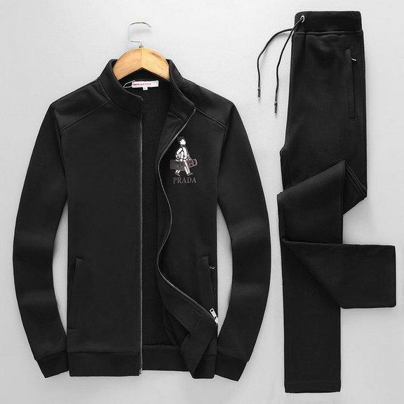 Wholesale Designer Prada Tracksuit for Cheap-050