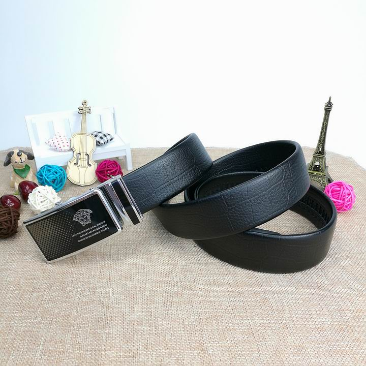 Wholesale Versace Men Automatic Leather Belt AAA-008