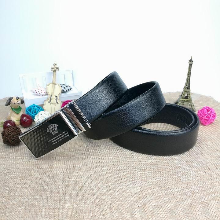 Wholesale Versace Men Automatic Leather Belt AAA-023