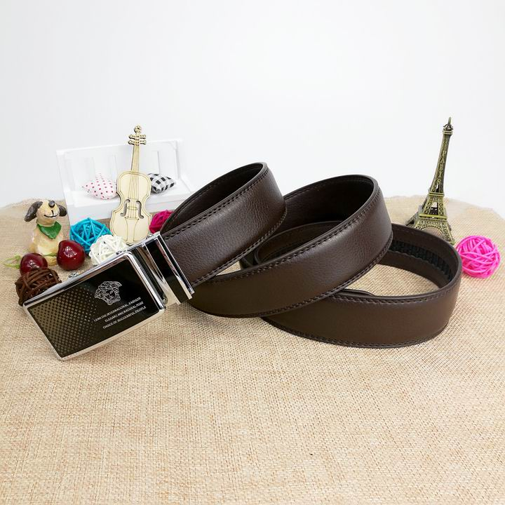 Wholesale Versace Men Automatic Leather Belt AAA-025