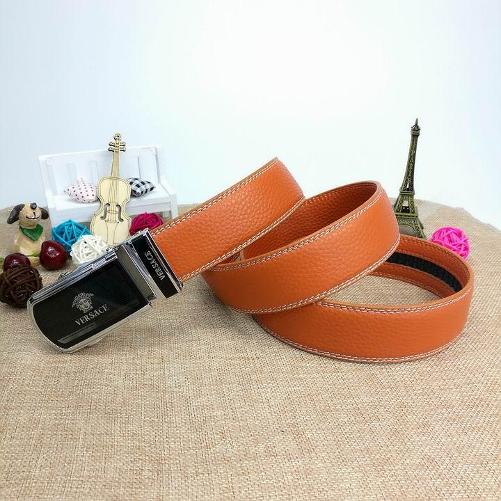 Wholesale Versace Men Automatic Leather Belt AAA-031