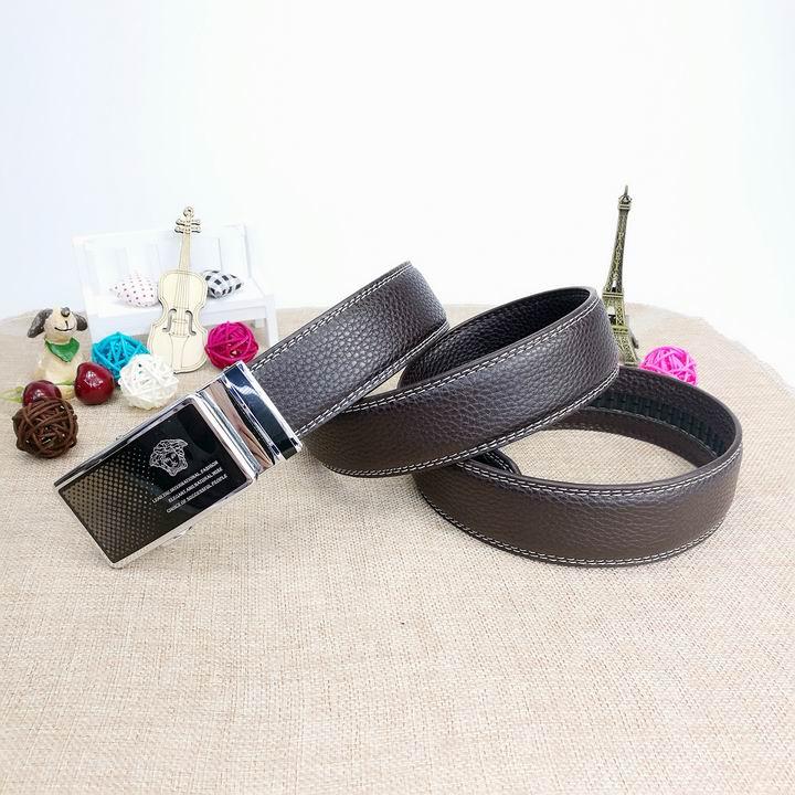 Wholesale Versace Men Automatic Leather Belt AAA-033