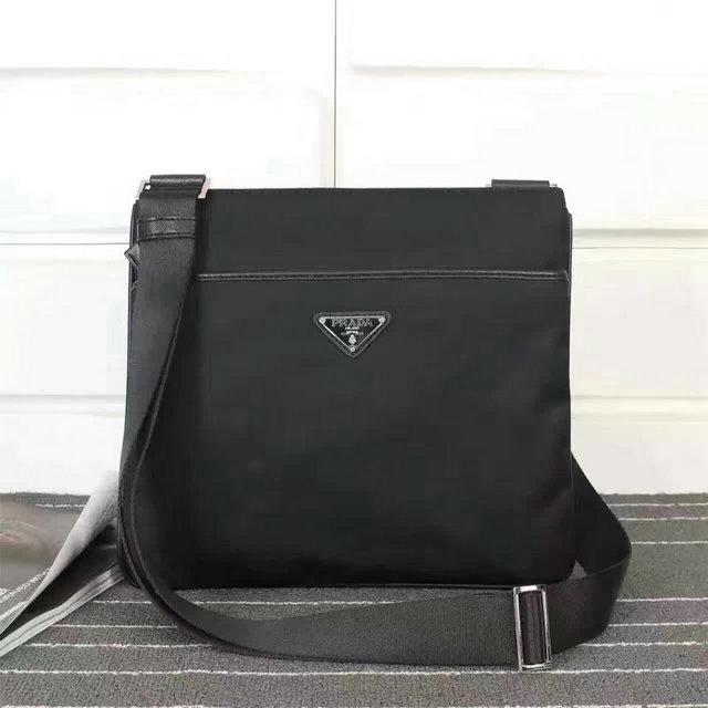 Wholesale Cheap men Prada Messenger Bags for Sale-161