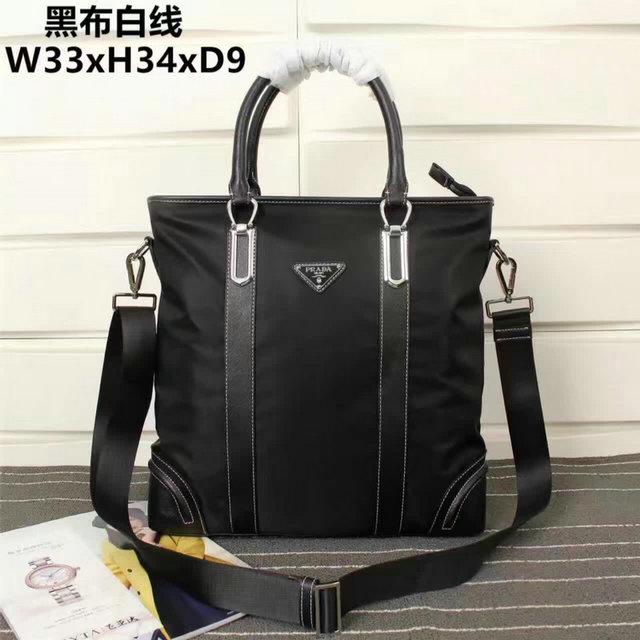 Wholesale Cheap Mens Prada Replica Bags for Sale-163