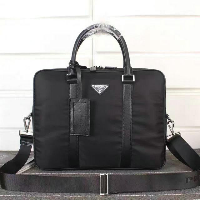 Wholesale Cheap Replica Prada Designer Briefcases for Sale-167