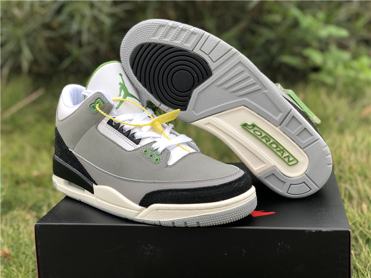 "air jordan 3 ""Chlorophyll"" 136064 006"